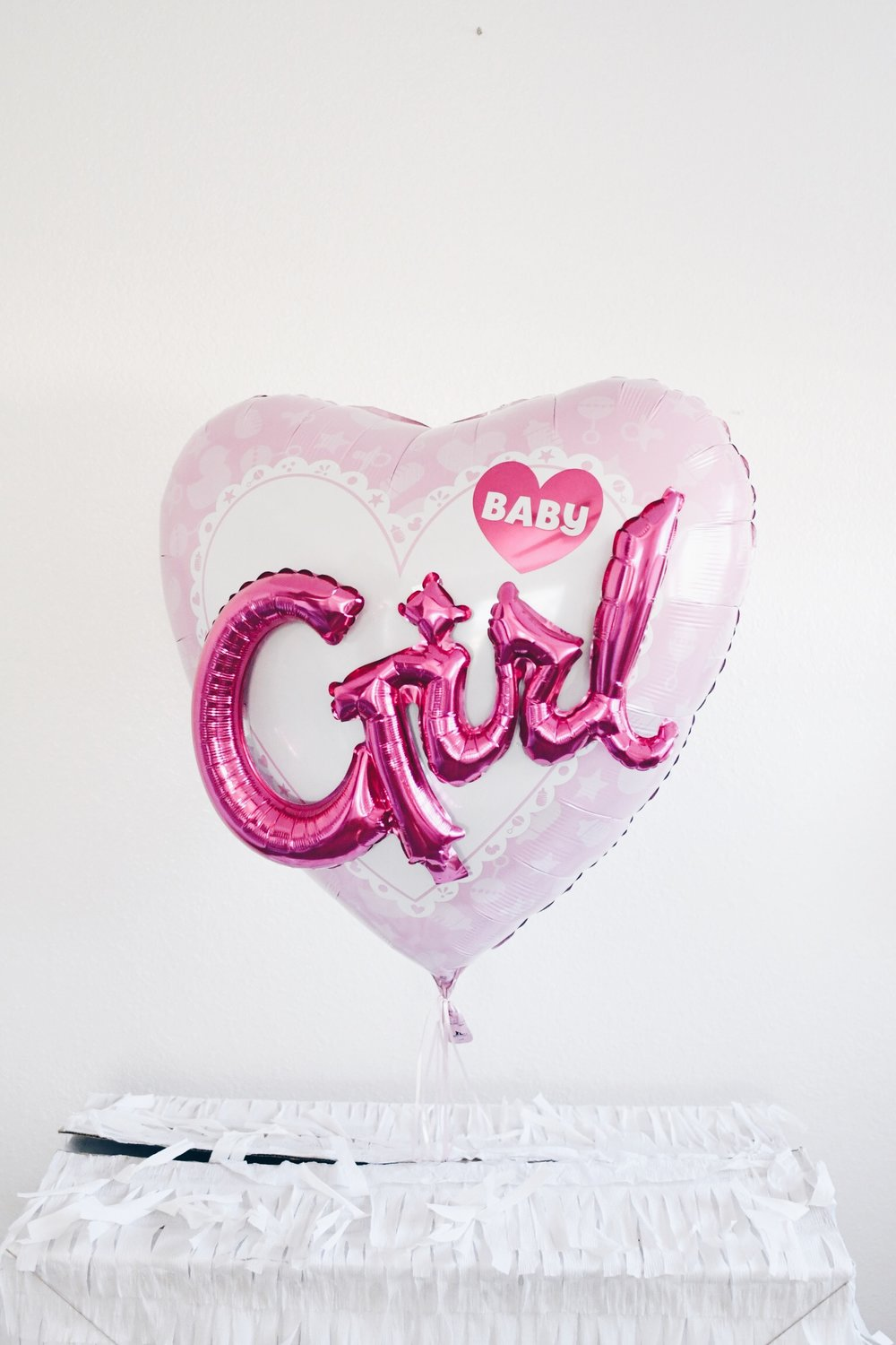 Gender Reveal | It's A Girl Balloon