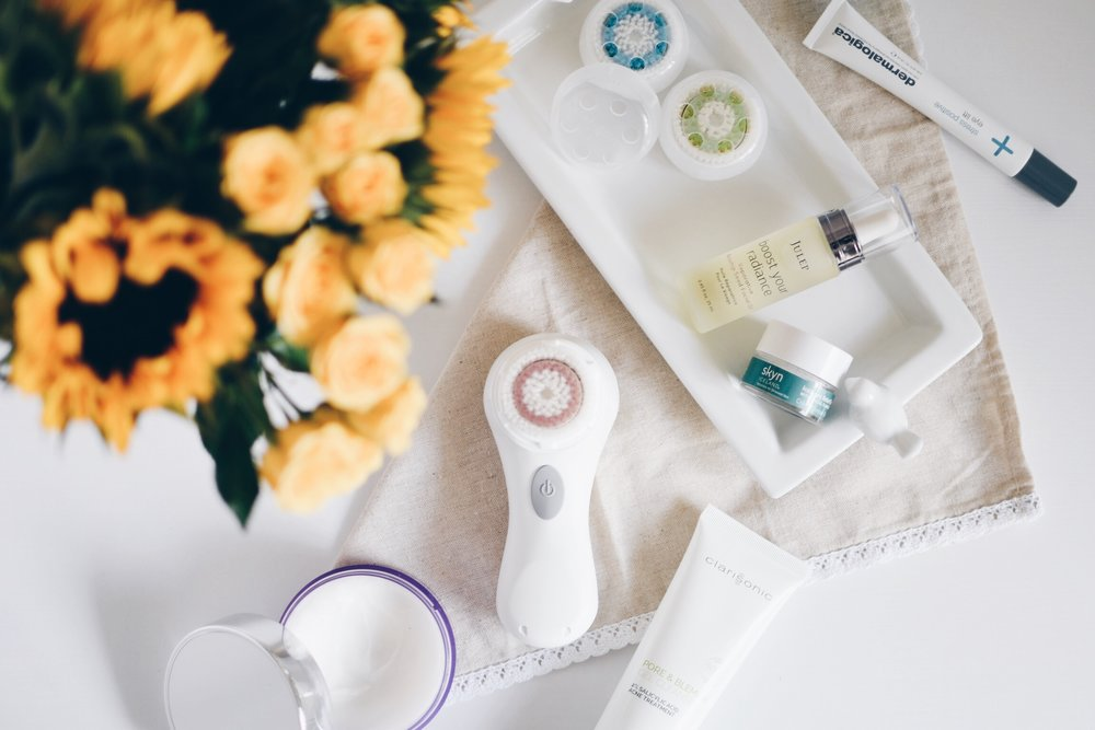 Step by step skincare routine // Clarisonic Mia 1