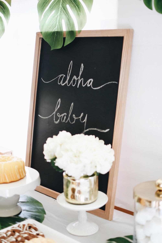 Aloha Baby Shower