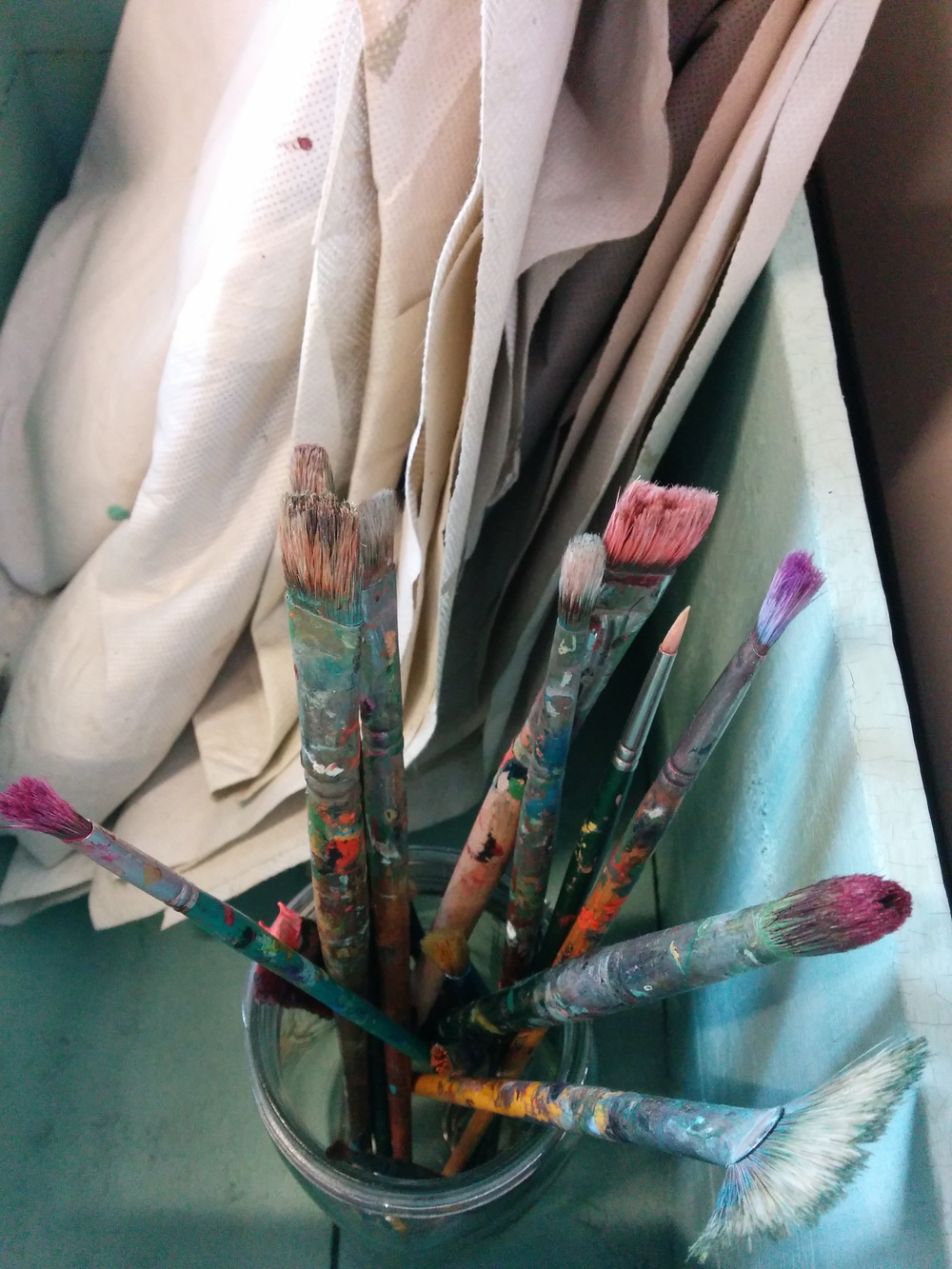 Julie Jacobson's brushes