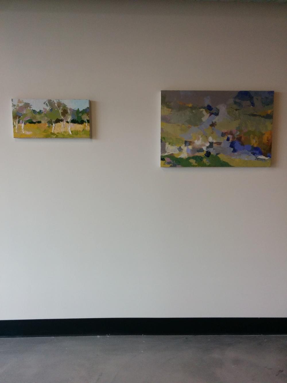 Julie Devine's workspace.