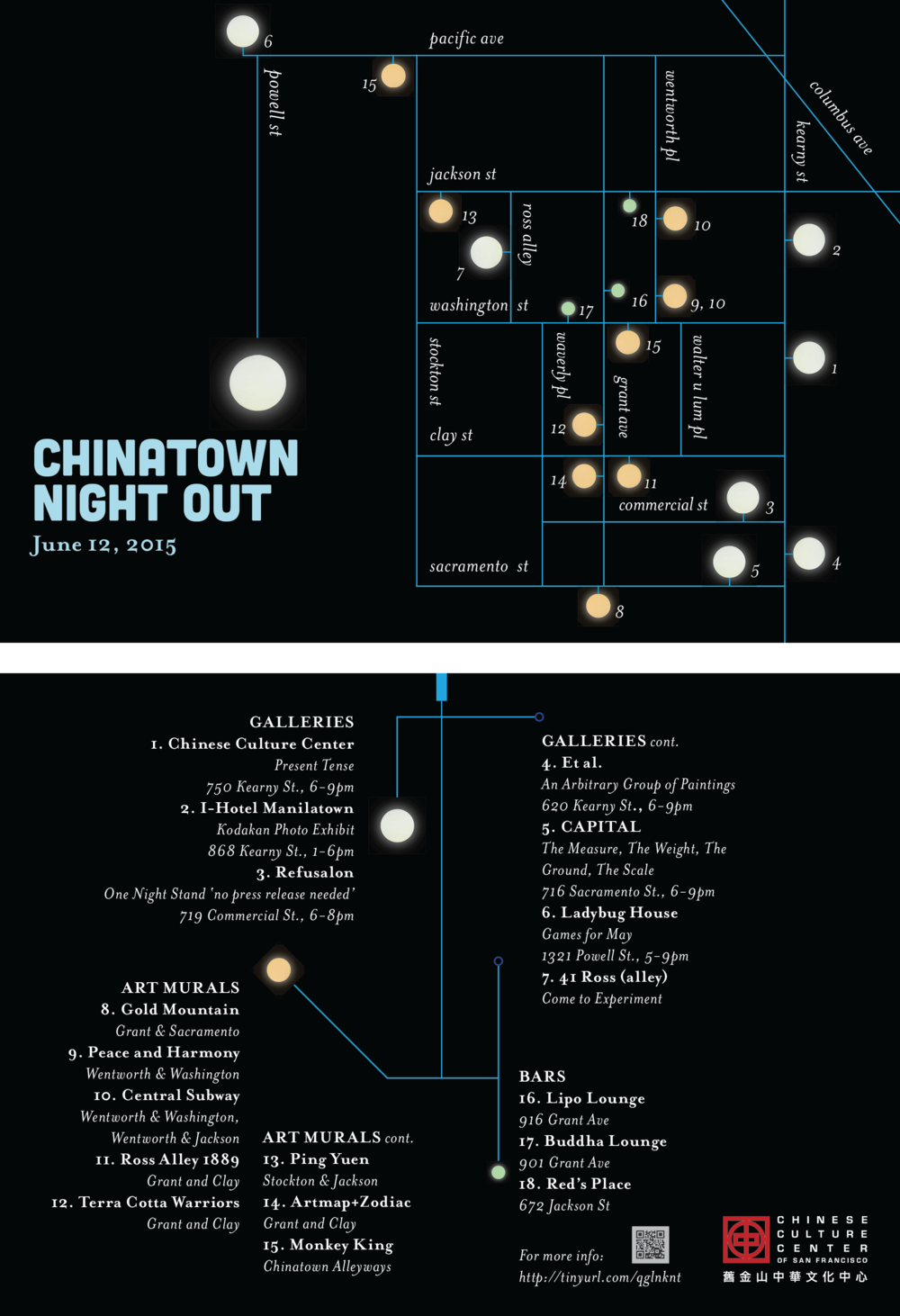 Chinatown Night Out 2015 (Designed by Kai Lin)