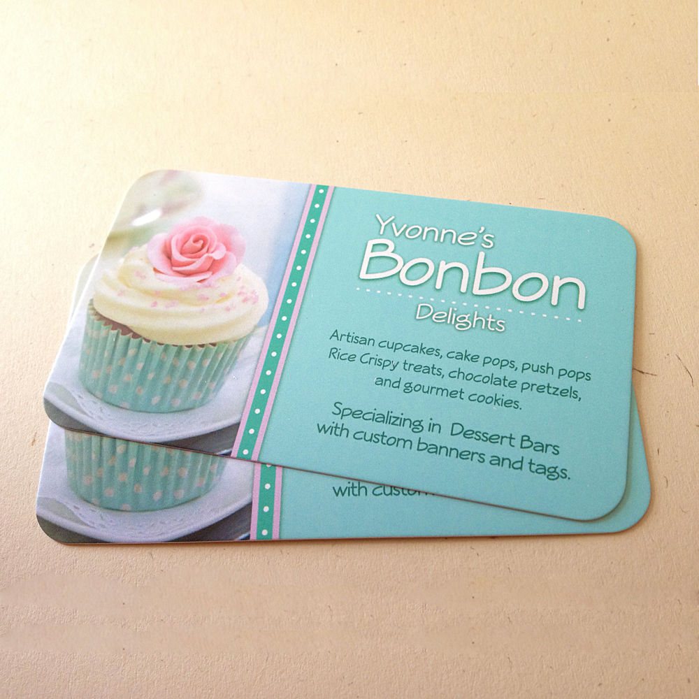 Custom Business Cards for Bakery Catering