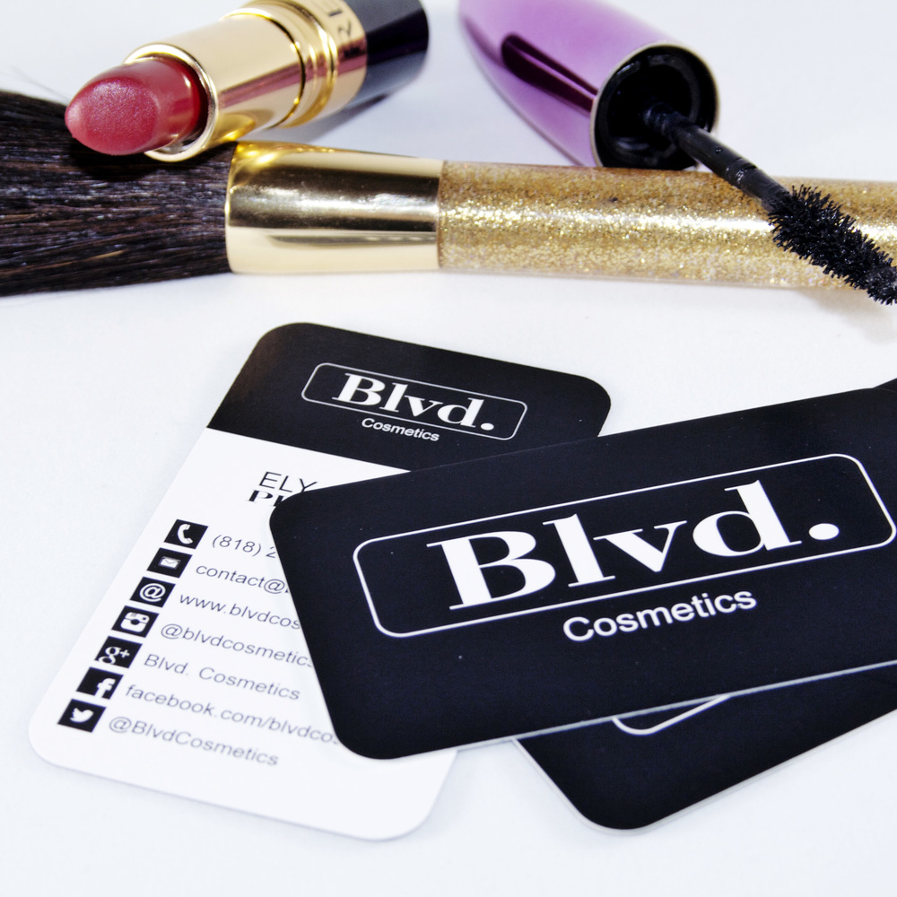 Custom Business Cards for Cosmetics company
