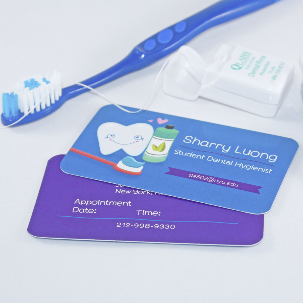 Custom Business Cards for Dental Hygienist