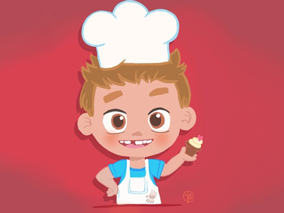 Mini Chef Illustration