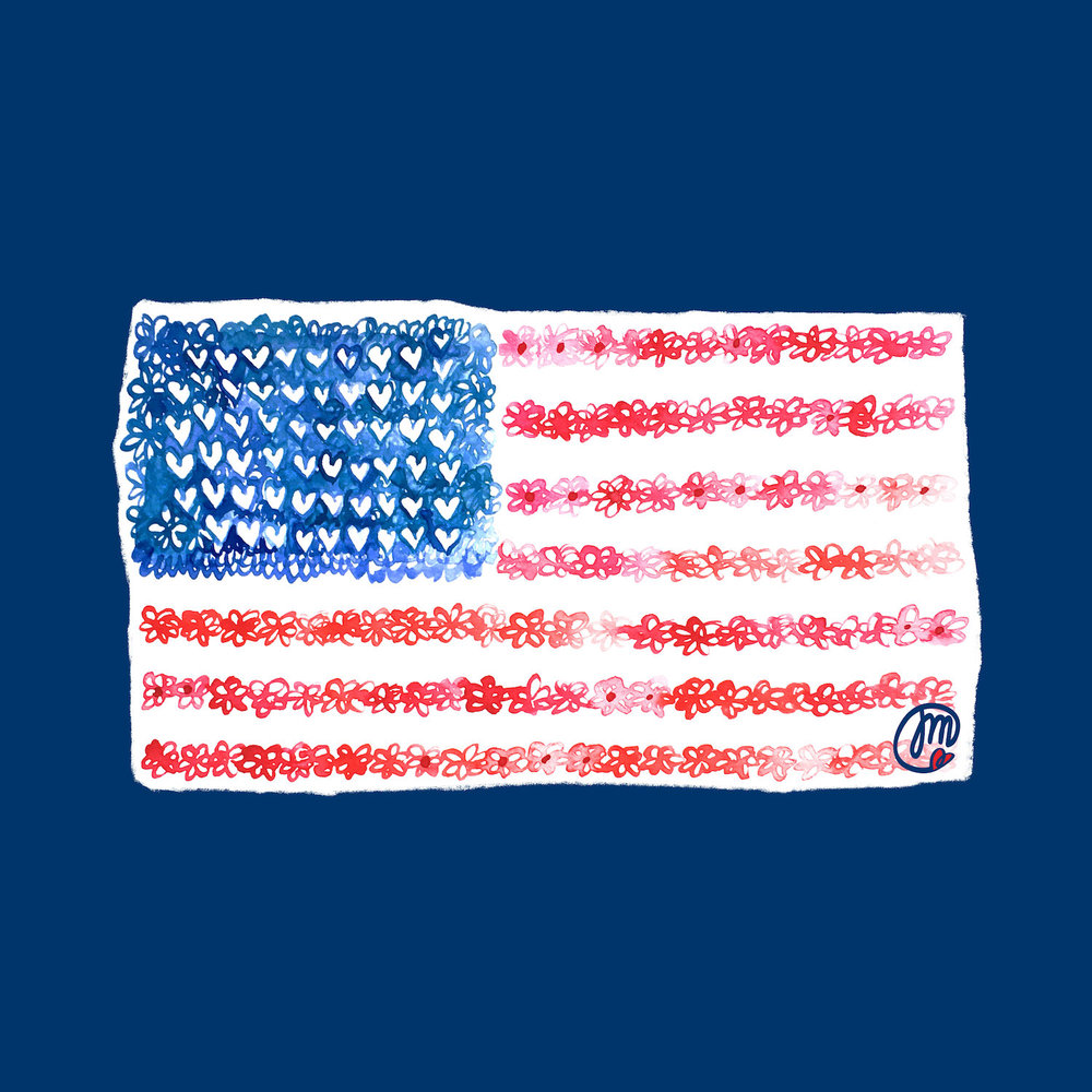 watercolor-usa-flag