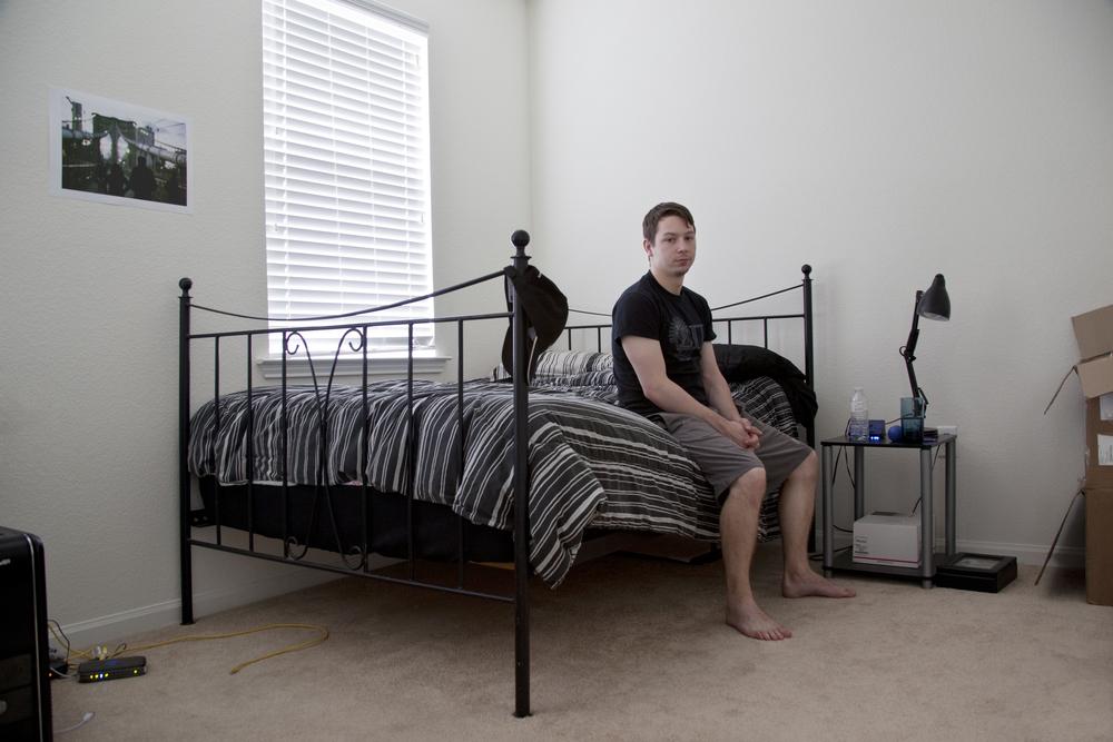 Digital    Series: Room Portraits,Dylan