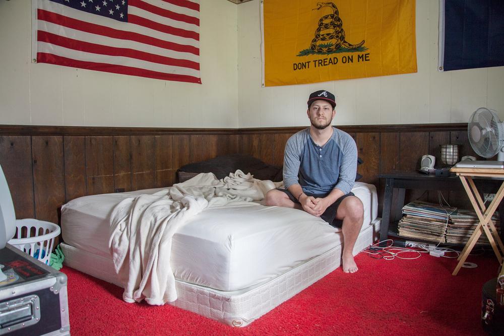 Digital    Series: Room Portraits, Ike