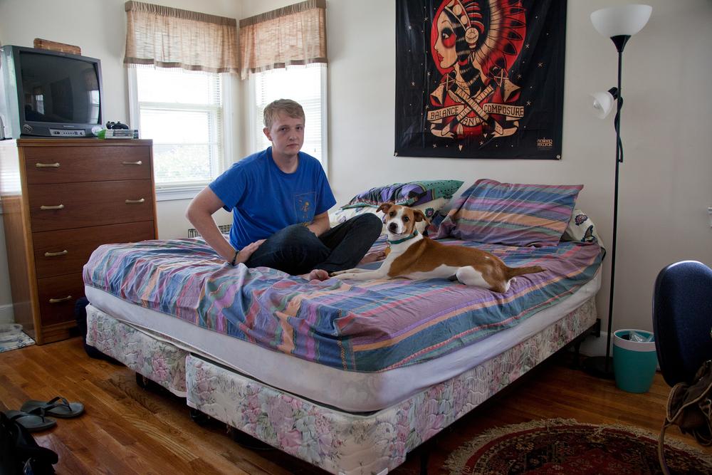 Digital    Series: Room Portraits, Trey