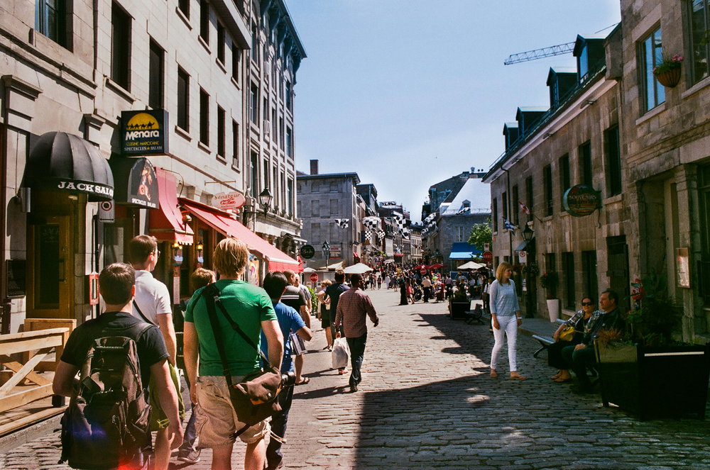 35mm     Old Montreal, QC