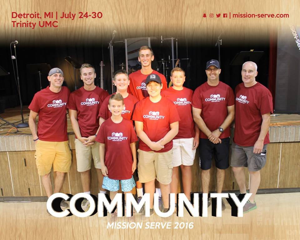 Mission Serve, Detroit July 24 - 30