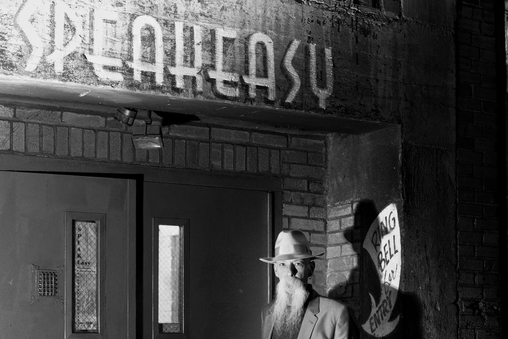 Speakeasy Alley Entrance