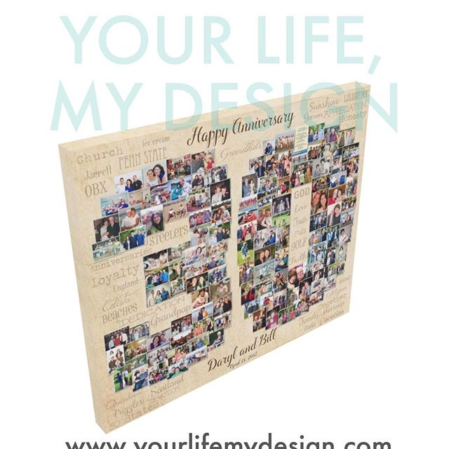 #30thbirthday going off to print! #yourlifemydesign #photocollage #30th #30years