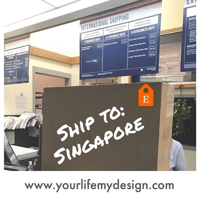 My first order to Singapore! Someone loves their girlfriend very much! #2yearanniversary #2years #yourlifemydesign #etsyseller #photocollage #photoaddict