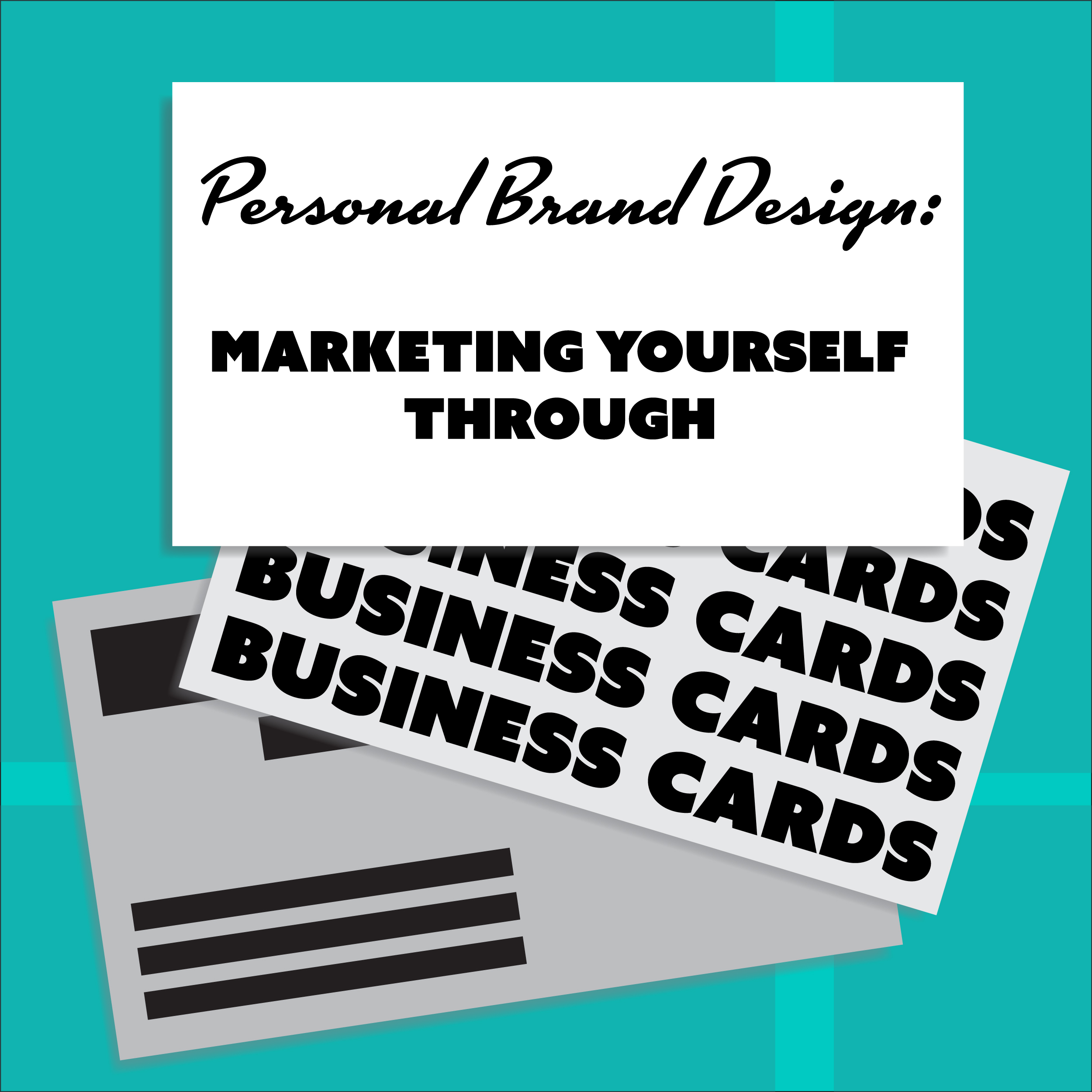 Marketing Yourself Through Business Cards — Victoria Rosa Flores