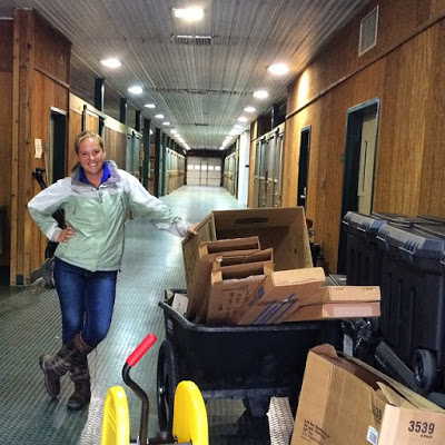 Moving in at Copeland Farms