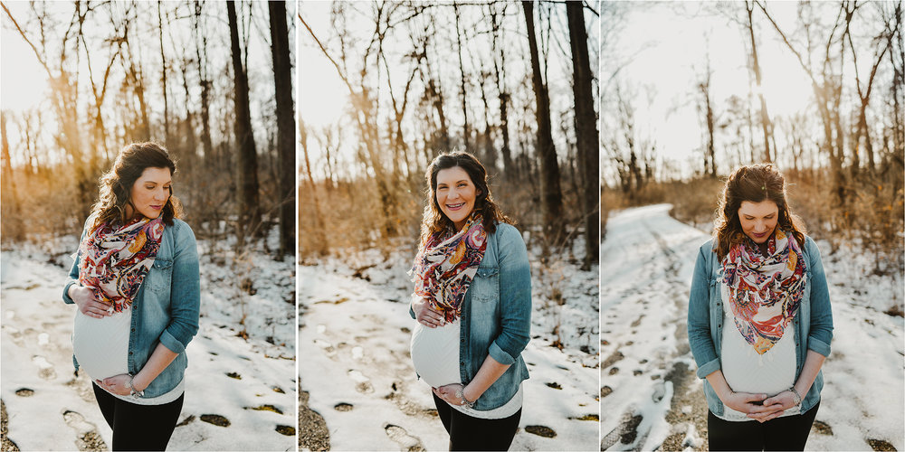 Isn't she just glowing? So happy for these two and I can't wait to meet their little man.