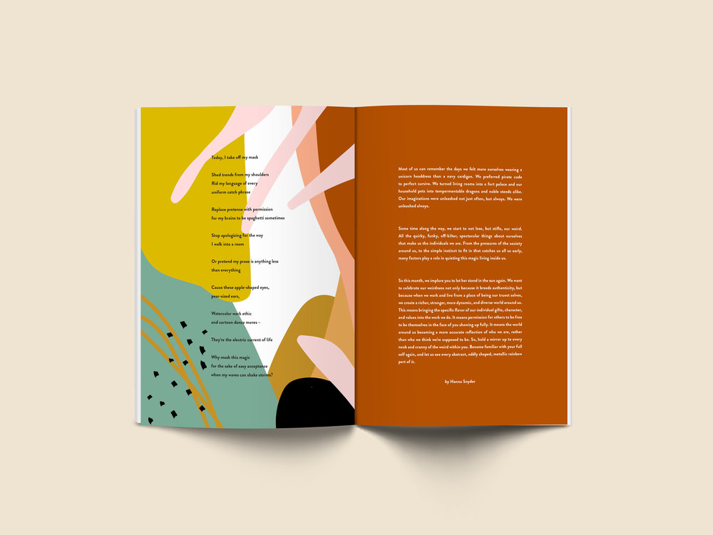 THE YELLOW COLLECTIVE MAGAZINE POETRY & ESSAYS — Han  Creative