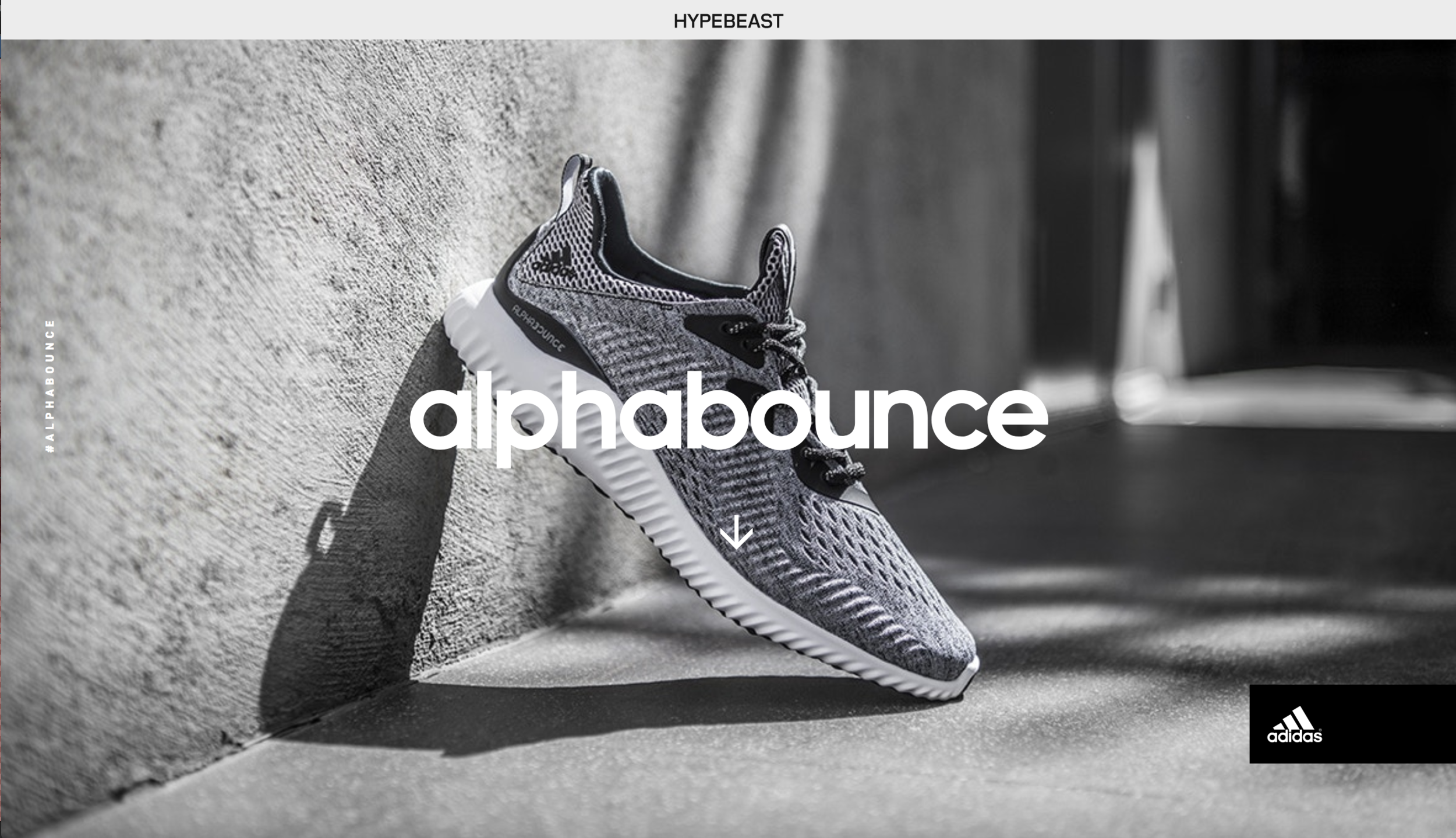 the best attitude af902 c7f7d Video and photography    adidas, HYPEBEAST. Lookbook creative concept,  visual design and prototype development for a single-page parallax scroll