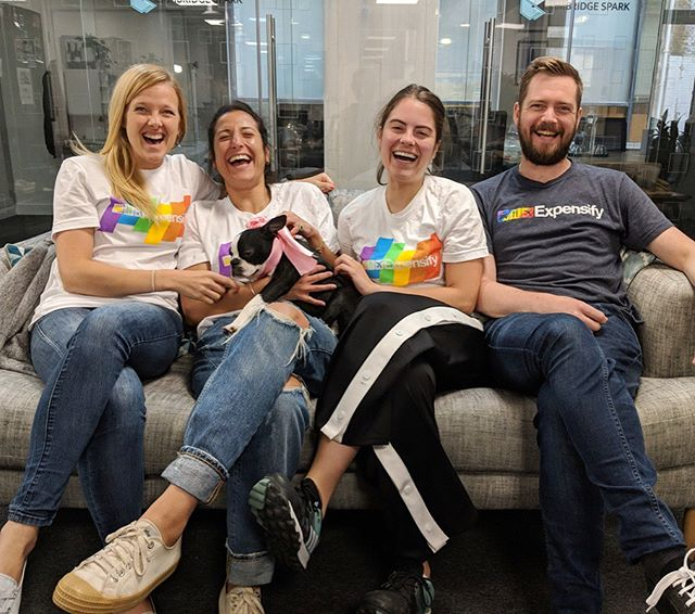 From London to Melbourne with stops in Ironwood, San Francisco and Portland, we're celebrating and standing in solidarity with the #LGBTQ community from around the world. Happy #pride🌈 from Team Expensify!  #lovewhatyoudo #pridemonth
