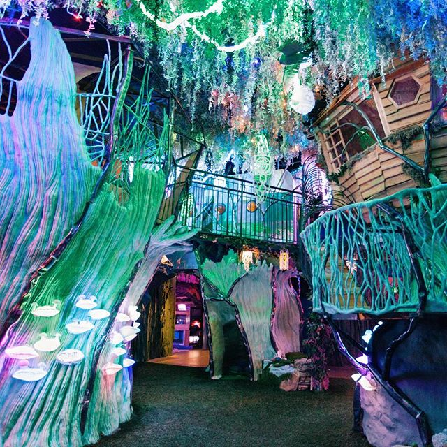 """Check out art collective, @meow__wolf's story behind this colorful photo: ⠀⠀⠀⠀⠀⠀⠀⠀⠀ """"The House of Eternal Return is a unique art experience featuring an astonishing new form of non-linear storytelling that unfolds through exploration, discovery and 21st century interactivity. There are dozens of rooms, secret passages and interactive light and musical objects with which guests can play for hours or investigate the mystery of the Selig family, who disappeared one night after conducting a forbidden experiment inside their Victorian mansion. Expensify has been a crucial tool in the growth of our company -- We're able to track expenditures in way we couldn't have dreamed, and the app plays a key role as we develop Meow Wolf Las Vegas, Meow Wolf Denver, and future Meow Wolf locations!"""" ⠀⠀⠀⠀⠀⠀⠀⠀⠀ @meow__wolf is a Santa Fe, New Mexico based arts and entertainment group that established in 2008 as an art collective. The company is composed of nearly 300 artists across all disciplines and champions otherness, weirdness, challenging norms, radical inclusion, and the power of creativity to change the world. ⠀⠀⠀⠀⠀⠀⠀⠀⠀ #ExpensifyCustomerStories"""