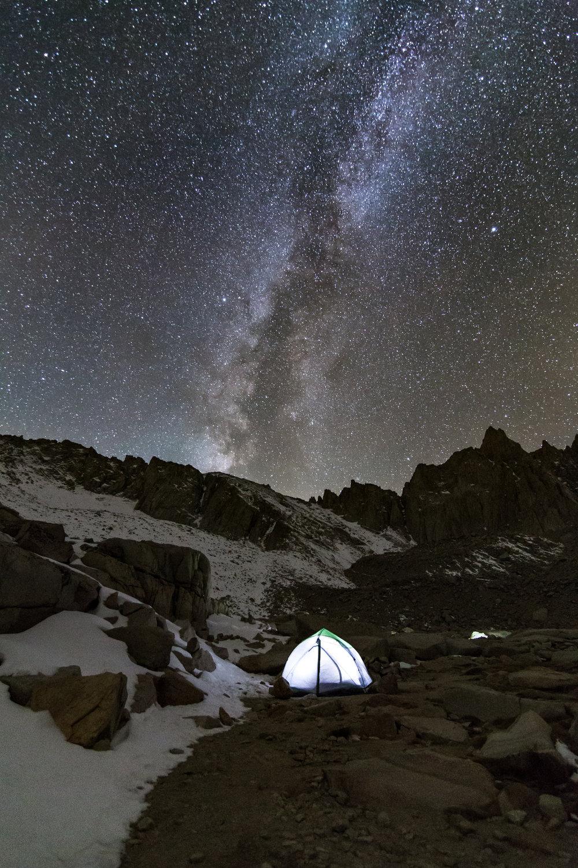 Milky Way In Tents