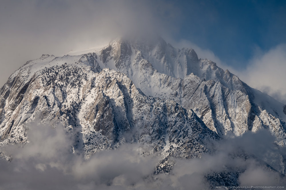 Lone Pine Peak Clouds