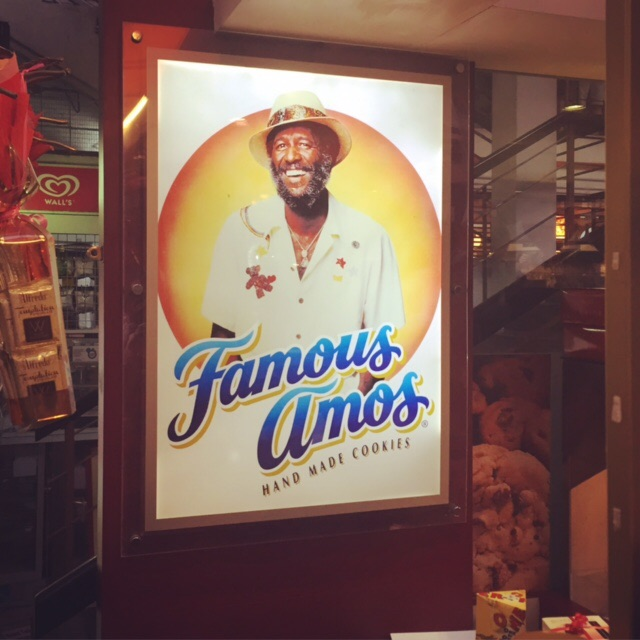 Now you know: this is the real Famous Amos.
