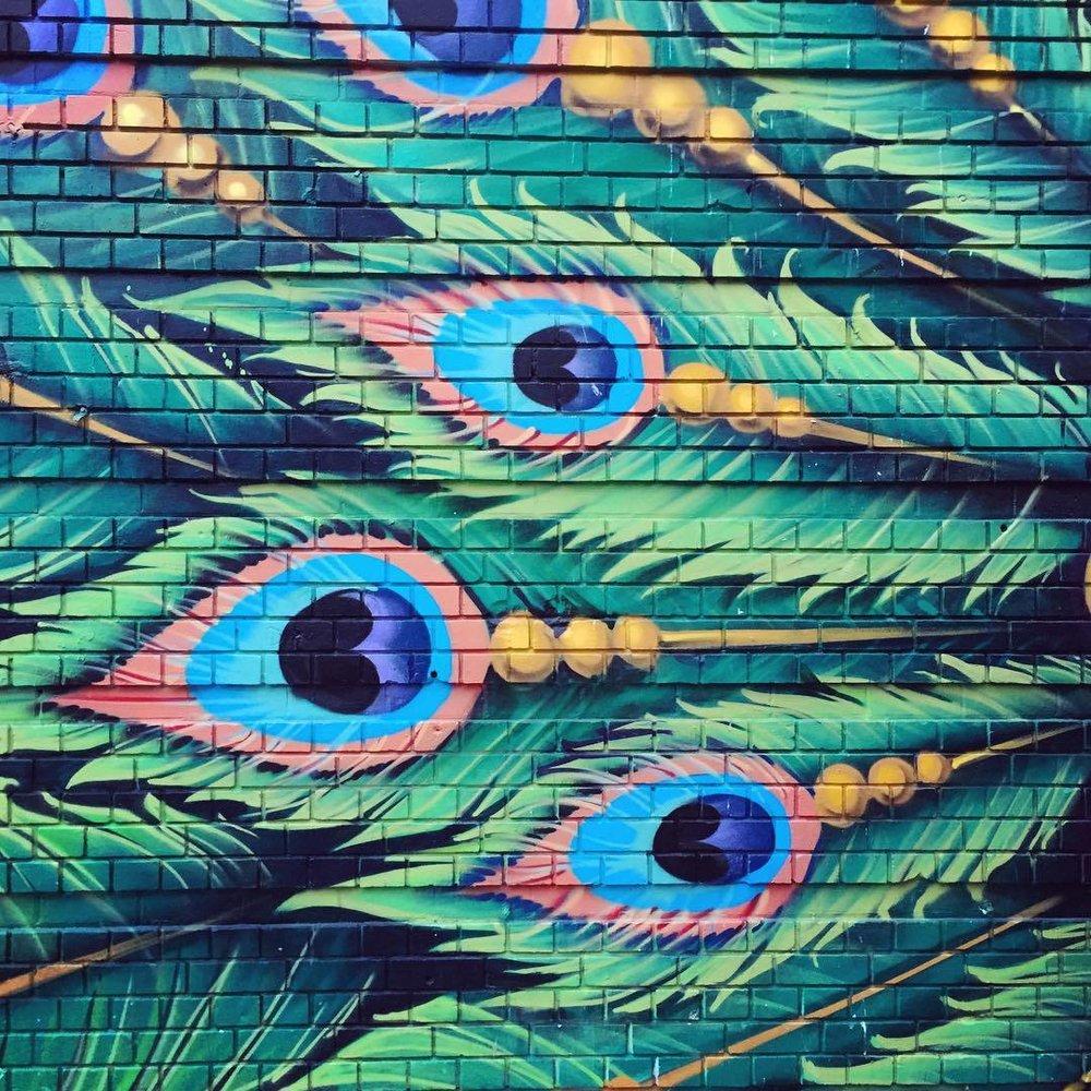 Street art in the Tenderloin, San Francisco