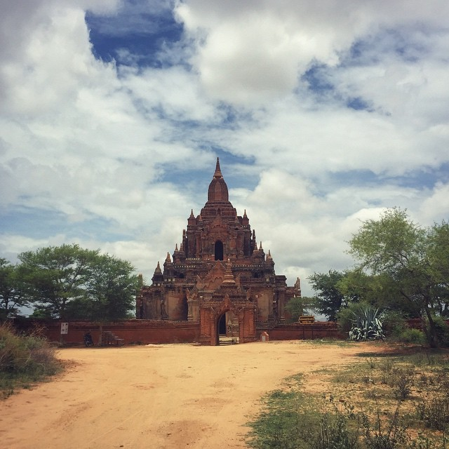 Temples in Bagan, Myanmar (Burma)