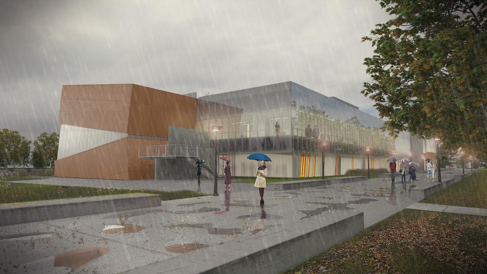 Evergreen Valley College Rendering 1