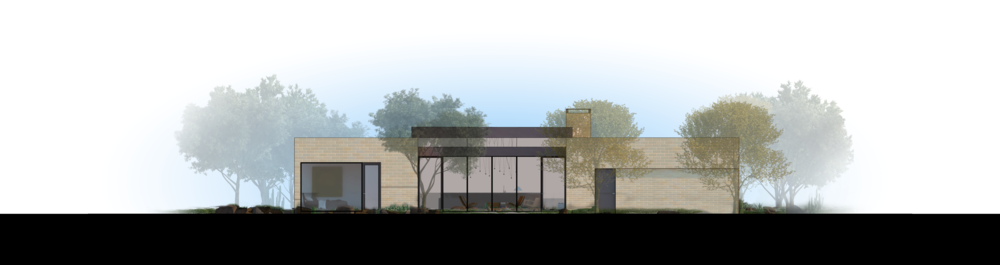 Palo Verde Lane Rendered Elevation 2