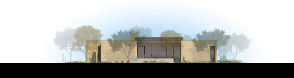 Palo Verde Lane Rendered Elevation 3