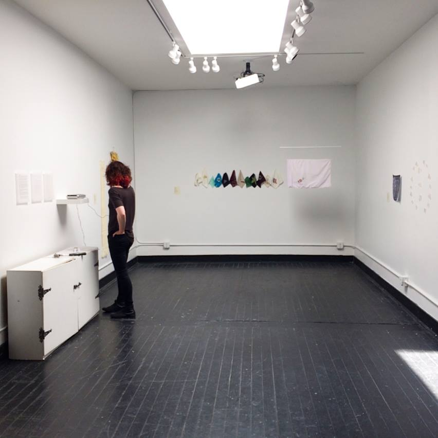 installation shot of show