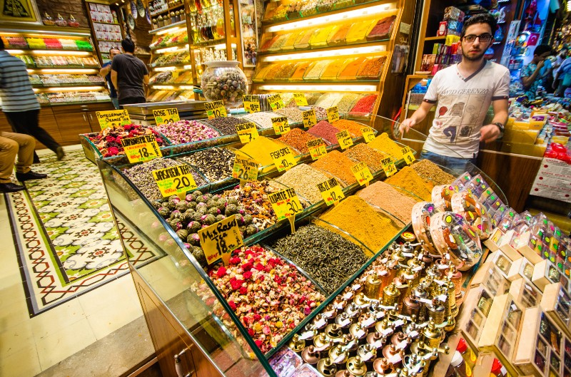 The Grand Bazaar Spice Market… sorry aunt debi.. no room for spices.