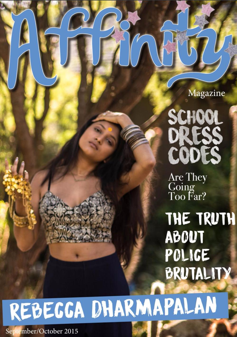 Affinity Magazine: Cover Story -