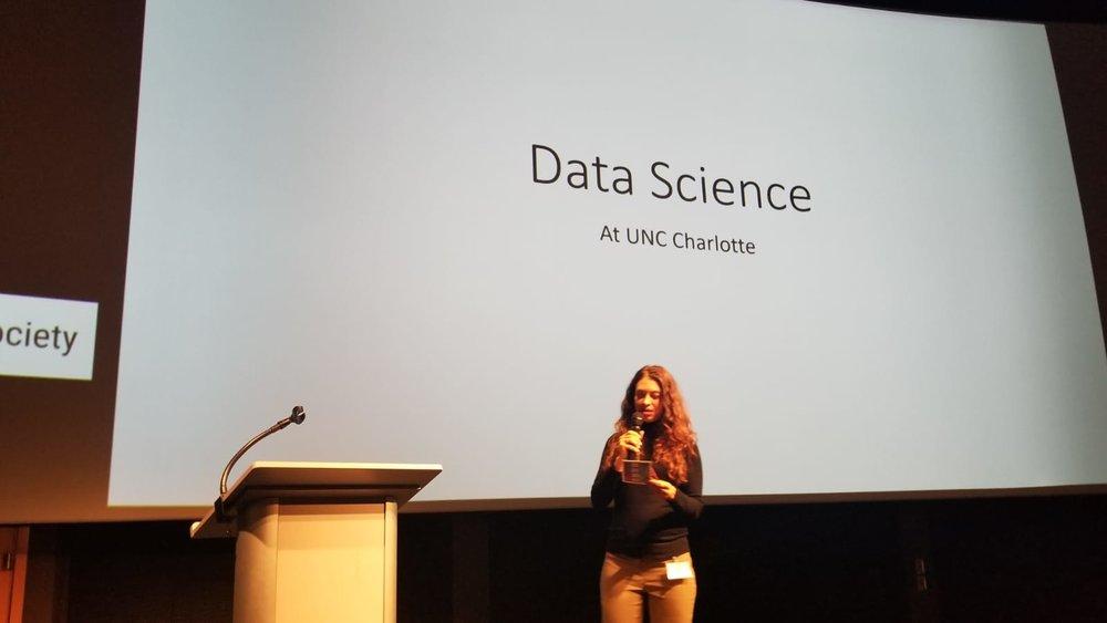 Tammy Harris introduces Social Good Speaker #1 - Mirsad Hadzikadic