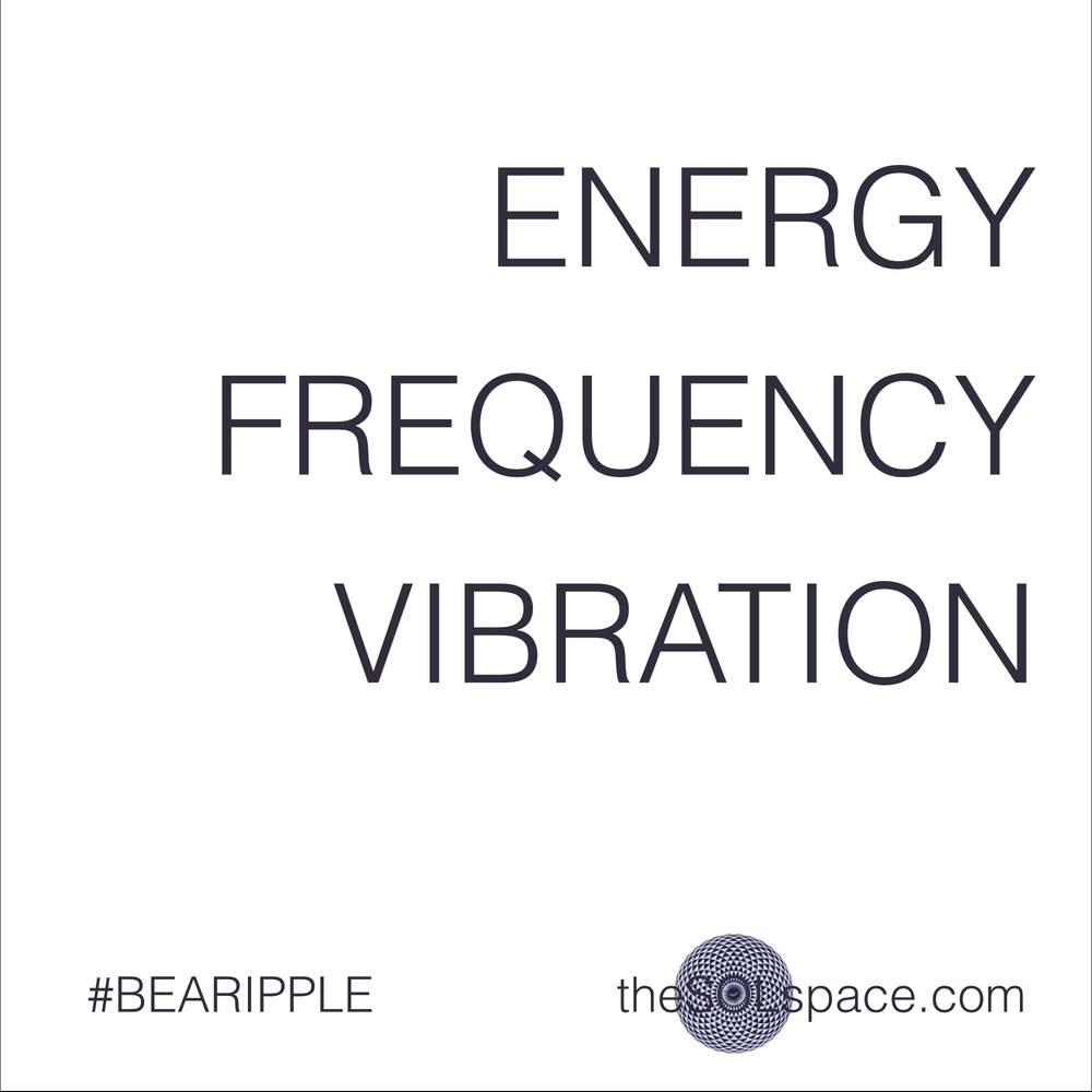 #BeARipple @theSOLspace Energy, Frequency, Vibration