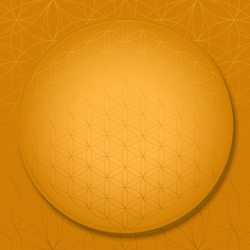 SOL-TRANSFORMATION Sacred Geometry Art  Flower of Life Sacral Chakra #theSOLspace SOL-Art © All Rights Reserved