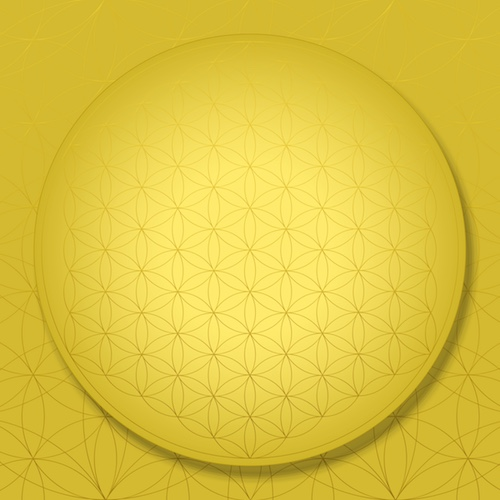 SOL-MIRACLE Sacred Geometry Art  Flower of Life Solar Plexus Chakra #theSOLspace SOL-Art © All Rights Reserved