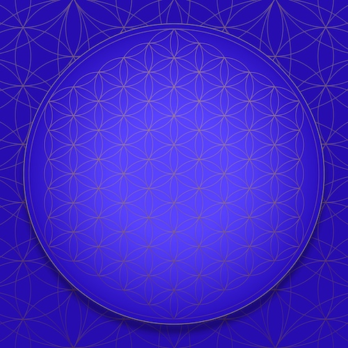SOL-EXPANSION Flower of Life Throat Chakra #theSOLspace SOL-Art © All Rights Reserved