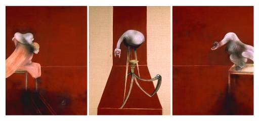 Second Version of Triptych 1944, (1988) Francis Bacon.