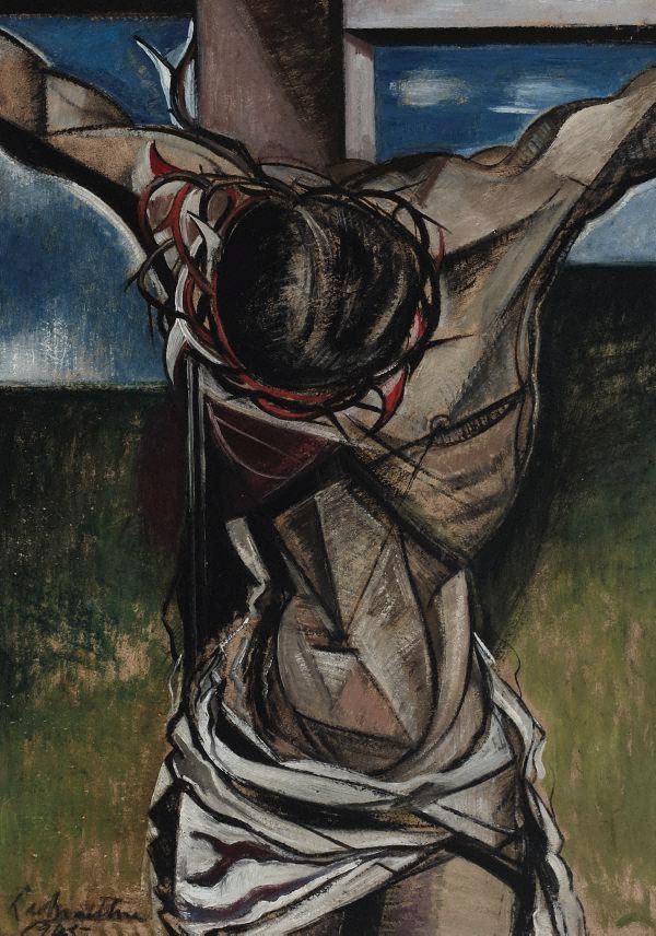 The crucifixion, (1945), Roy de Maistre
