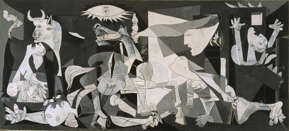 Pablo Picasso,Guernica,1937.