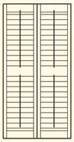 FULL HEIGHT SHUTTERS