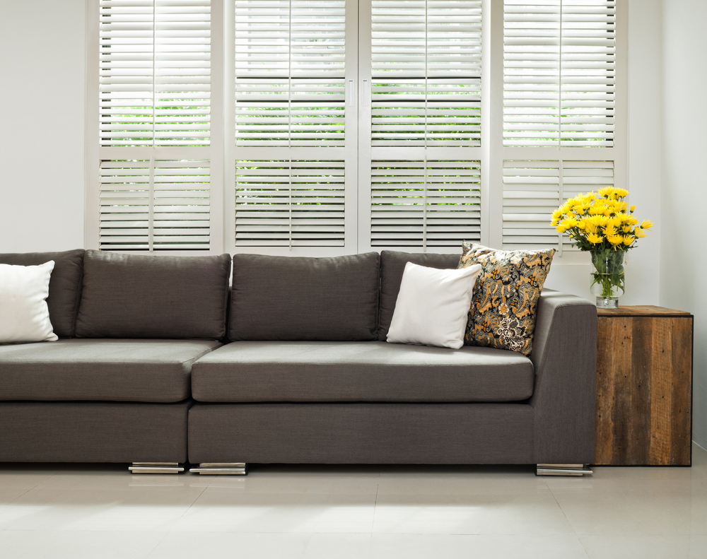 Large interior window shutters