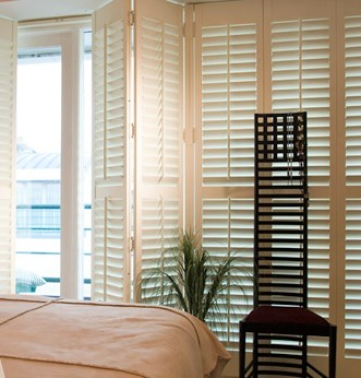Bedroom shutters better than blinds