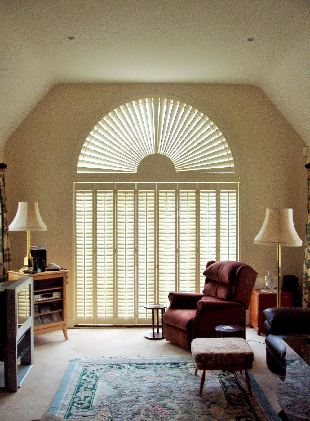 Special shape shutters Southampton Hampshire