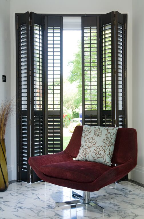 Patio door shutters Dorset Hampshire